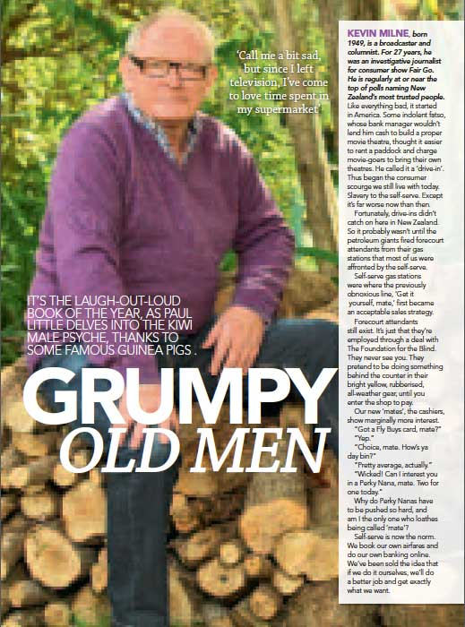 Grumpy Old Men In New Zealand Women's Weekly